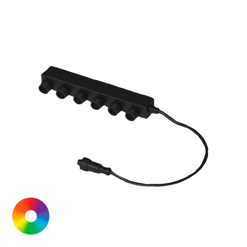 Aquascape 6-Way Color-Changing Splitter 84068