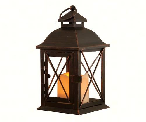 STI Smart Solar Aversa LED Candle Lantern