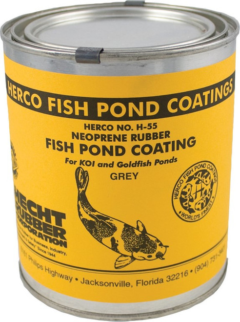 Herco Neoprene Black Rubber Pond Coating, 32 oz