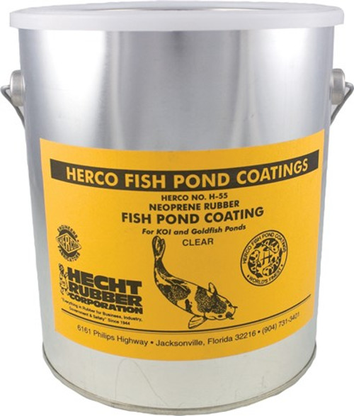 Herco Neoprene Translucent Clear Rubber Pond Coating, 1 Gallon
