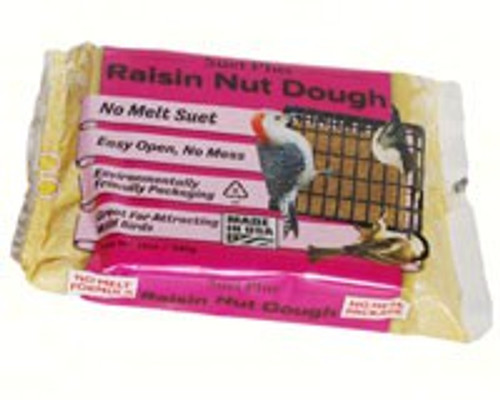 Wildlife Sciences Raisin Nut Dough Blend 11 oz Suet Cake, 12 Pack WSC352