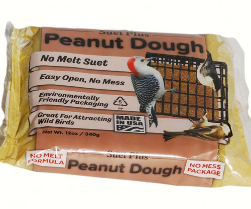 Wildlife Sciences Peanut Dough 11 oz Suet Cake, 12 Pack WSC354