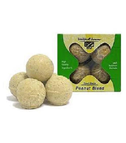 Wildlife Sciences Peanut Blend Suet Balls, 4 Pack WSC404