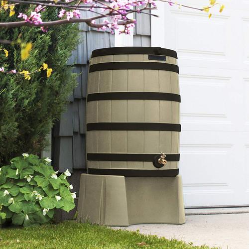 Good Ideas Rain Wizard 50 Gallon Rain Barrel Stand