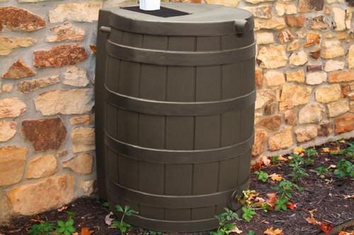 Good Ideas Rain Wizard Rain Barrel 50-Gallon, Assorted Colors