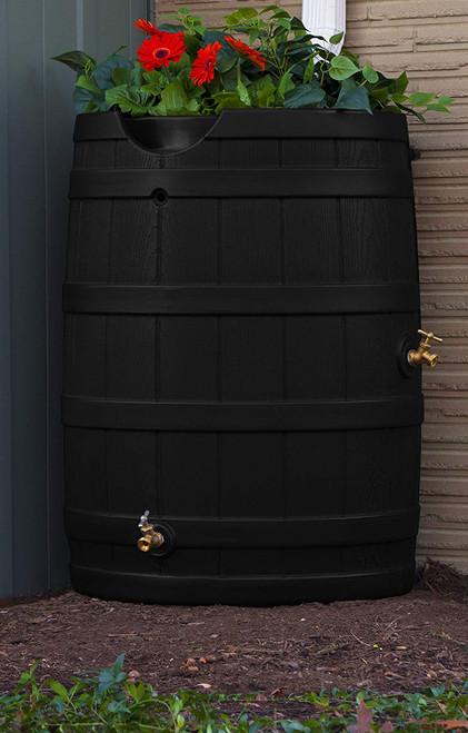 Good Ideas Rain Wizard Rain Barrel 65-Gallon, Assorted Colors