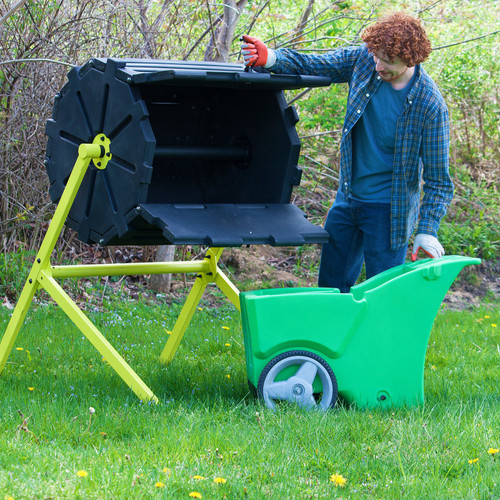 Good Ideas Compost Wizard Insulated Composter Single
