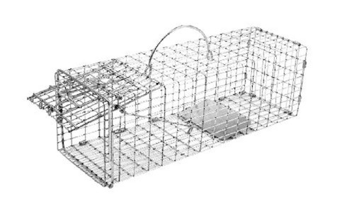 Tomahawk Live Trap 102 - Chipmunk, Rat, Small Squirrel Trap with One Trap Door