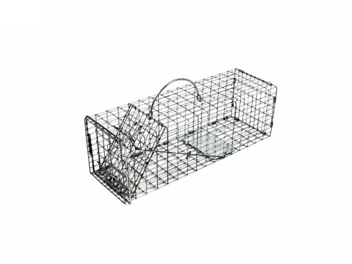 Tomahawk Live Trap 103.5 - Squirrel and Similar Sizes Trap with One Trap Door Featuring Tight Mesh Pattern