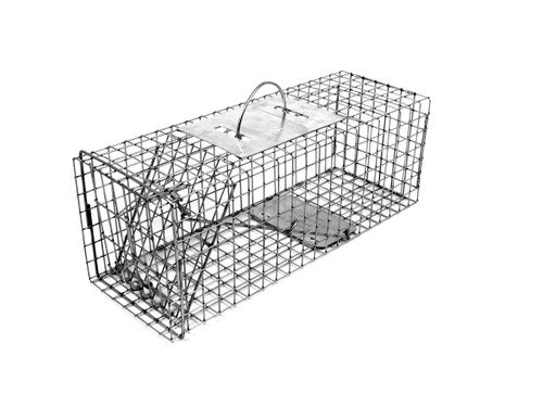 Tomahawk Live Trap 104.5 - Skunk, Opossum, Praire Dogs and Similar Sizes Trap with One Trap Door
