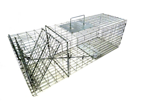 Tomahawk Live Trap 1010 Raccoon, Groundhogs, Cats, Badgers and Similar Sizes Trap with One Trap Door