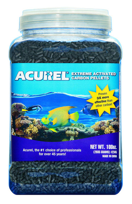ACUREL 2345 EXTREME ACTIVATED CARBON PELLETS 100-oz/GAL JAR