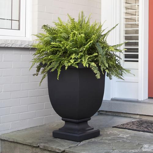 Mayne Augusta 26″ Urn Planter Black, White or Espresso 5894