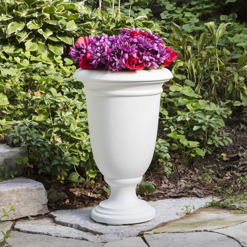 Mayne Ellington 24″ Urn Planter Black, White or Espresso 5896