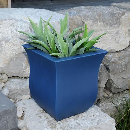 Mayne Valencia 16″ x 16″ Planter Black, White, Espresso, Macaw Green or Neptune Blue 5873