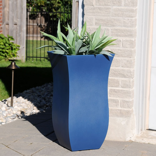 Mayne Valencia 30″ Tall Planter Black, White, Espresso, Macaw Green or Neptune Blue 5874