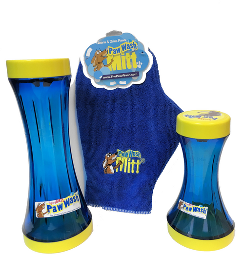Grain Valley Dog Supply Paw Wash Kit - Small with Free Mitt