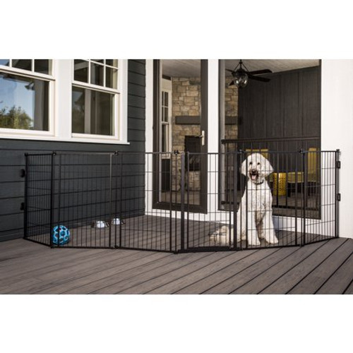 Carlson Extra Tall Weatherproof Outdoor Super Pet Gate 0480