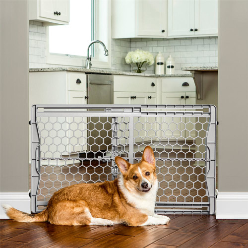 "Carlson Pet 23"" Plastic Expandable Pet Gate 2323"