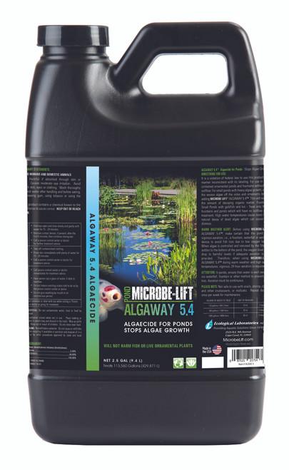 Microbe Lift Algaway 5.4 2.5 Gallon Container ALGA2.5
