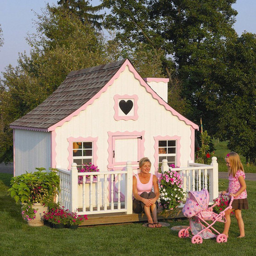 Little Cottage Company Gingerbread DIY Playhouse Kit