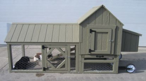 LITTLE COTTAGE CO. BERLIN CHICKEN COOP PANELIZED KIT