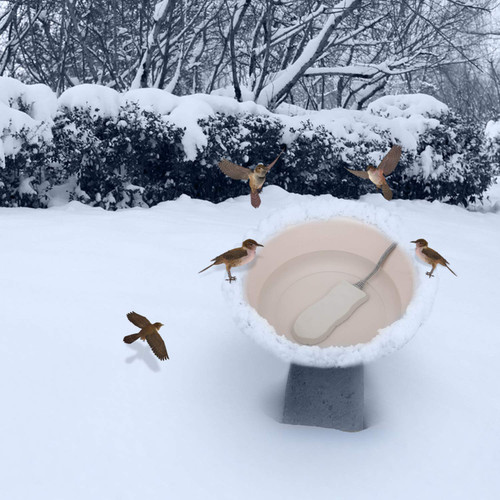 "K&H Bird Bath De icer Ice Eliminator 80 watts 6.5"" x 3.25"" x 1"" 9001 (9001)"