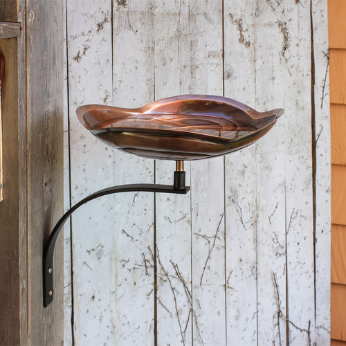 Achla Dara Knot BirdBath With Wall Mount Bracket BB 11 WM