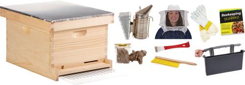 Miller Mfg Co Inc P-Little Giant 10-frame Beginner Hive Kit