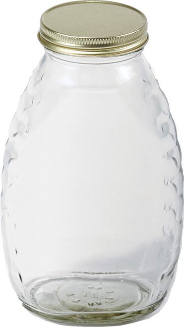 Miller Mfg Co Inc     P - Little Giant Glass Honey Jar With Lids