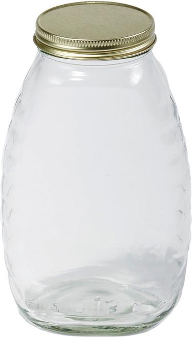 Miller Mfg Co Inc     P - Little Giant Glass Honey Jar With Lid