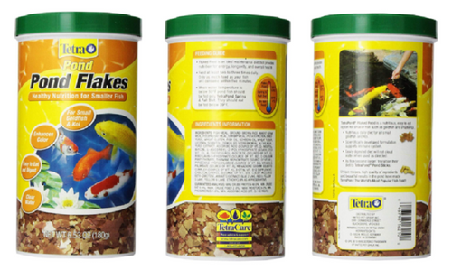 3 Pack Tetra Flake Fish Food 6.53 oz. 16210