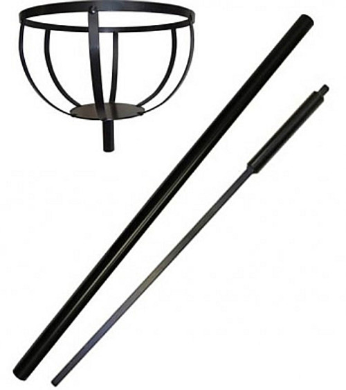 Pole Mount Flower Pot Holder and Ground Stake GBPLGS