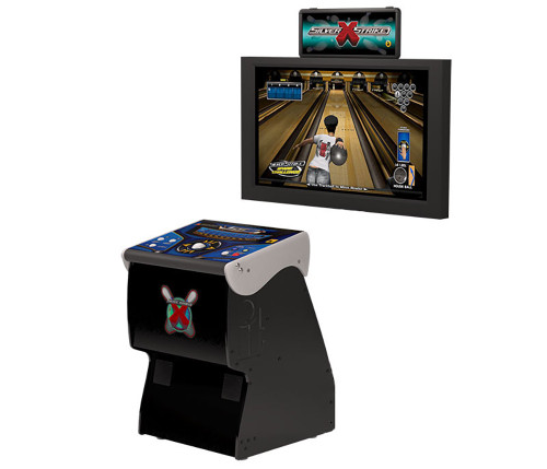 Silver Strike X Bowling Home Arcade Game Without Monitor Stand 52775