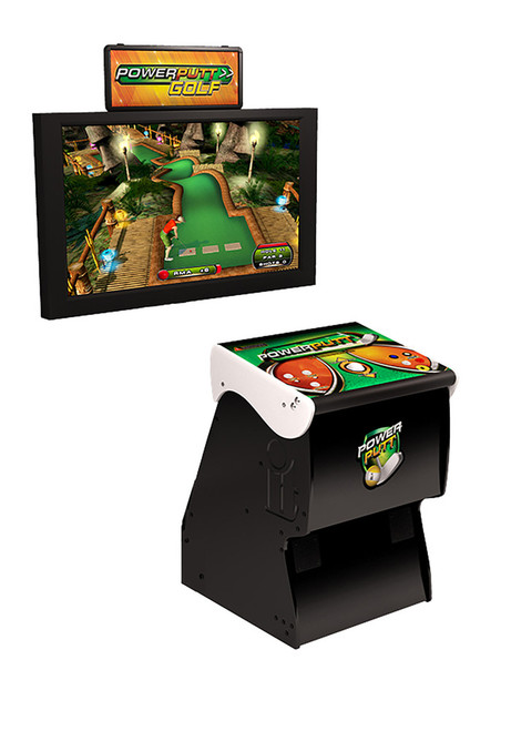 Power Putt Golf Home Arcade Game Without Monitor Stand 17843