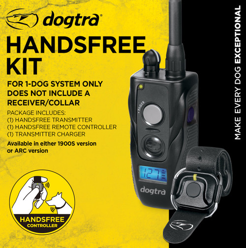 Dogtra HANDS FREE Kit For 1900S