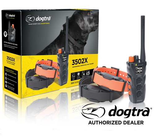Dogtra 3502 X DUAL DIAL 2 Dog Trainer IPX9K Certified