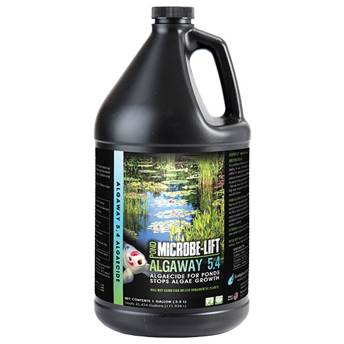 Microbe Lift Algaway 5.4 1 Gallon ALGAGAL Algaecide For Ponds