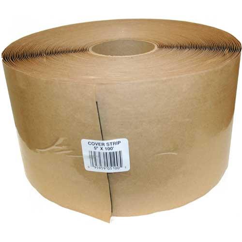 "Tite Seal Cover Strip w/ Butyl Adhesive 5"" x 100' PLCS5100"