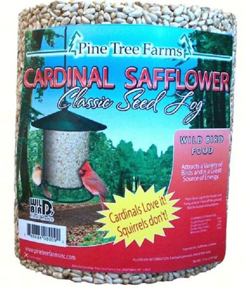 Cardinal Safflower Classic Seed Log 72 oz. / 4.5 lbs. 8009