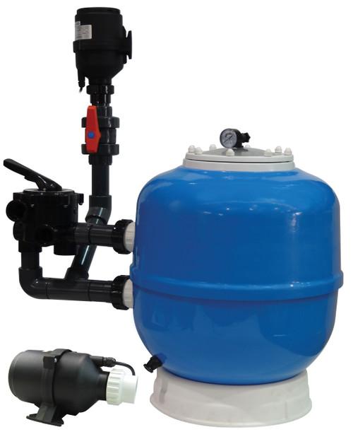 Evolution Aqua K1 Micro Bead 24000 Pond Filter - Includes 250L K1 Micro K1MBF24000