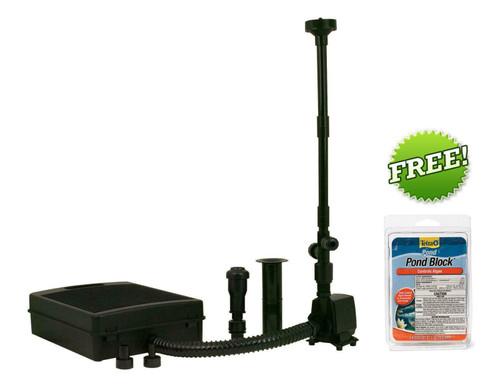 Tetra Pond Fountain Kit FK5 325 gph Pump & Filter 26593 + Algae Blocks