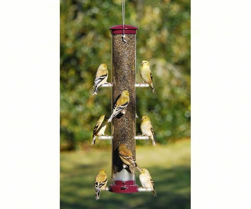 Aspects 447 Nyjer Tube Bird Feeder Large Berry ASPECTS447