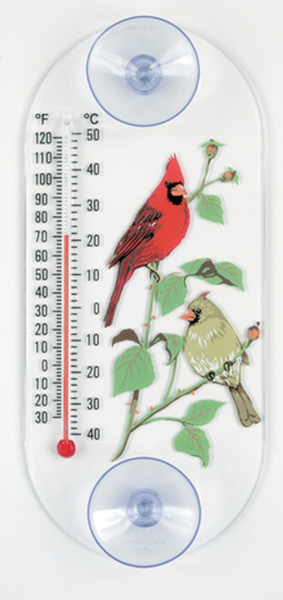 Aspects 062 Cardinal Pair Window Thermometer ASPECTS062