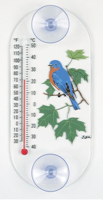 Aspects 203 Bluebird Maple Original Window Thermometer ASPECTS203