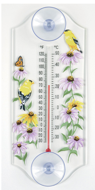 Aspects 259 Goldfinch Classic Window Thermometer ASPECTS259