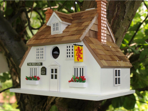 Home Bazaar Red Lion Public House Bird House D1002S