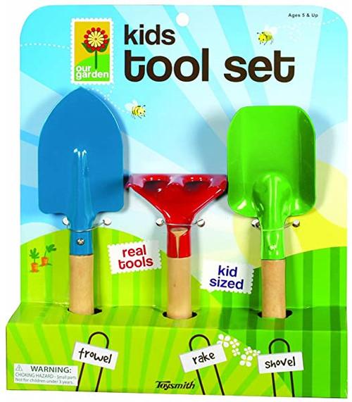 Toysmith Kids Hand Garden Tool Set TS22965