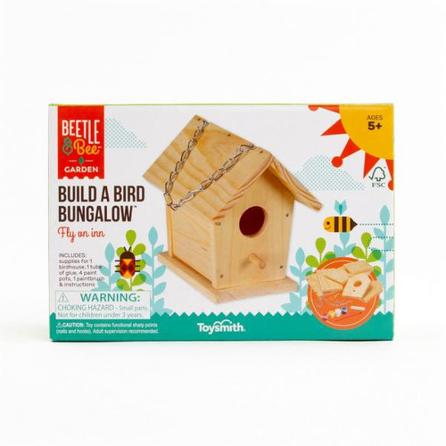 Toysmith Build a Bird Bungalow Bird House TS29535