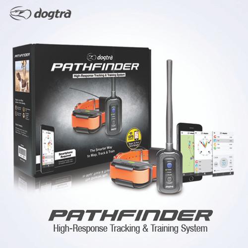 Dogtra Pathfinder GPS Tracking + Training E-Collar SmartPhone Control Dogtra Pathfinder GPS + E-Collar 3-dog